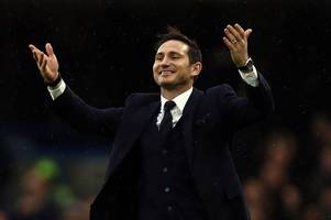 frank lampard urges his derby county players to embrace the pressure