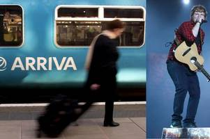 ed sheeran fans heading to cardiff on sunday warned to plan ahead for 'extremely limited' train service