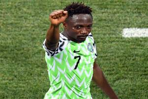 leicester city fans react to ahmed musa's stunning nigeria brace