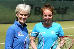 Tennis-mad coach from Nottingham joins Judy Murray to drive female participation