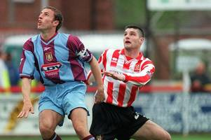 striker reflects on cheltenham town days, nearly joining norwich city and facing england manager gareth southgate's aston villa
