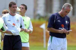 former celtic star roy keane reveals real reason behind explosive row that saw him leave ireland's 2002 world cup camp