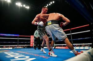 josh taylor keeps undefeated record going as he beats viktor postol on points