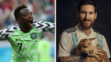 world cup 2018: nigeria's ahmed musa challenges lionel messi as argentina hero