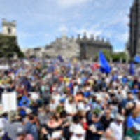 Protesters in London call for another Brexit vote
