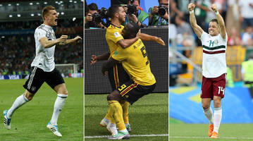 Germany Finds a Way; Mexico, Belgium Take Big Steps Toward World Cup Knockout Stage