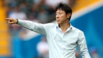 shin tae-yong proud of south korea's efforts against mexico despite second straight defeat