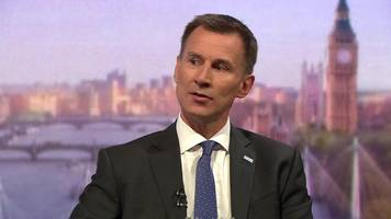 airbus: jeremy hunt criticises 'completely inappropriate threats'