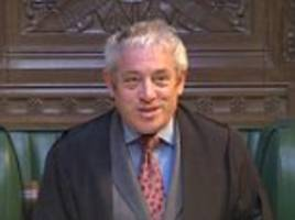 john bercow faces calls to quit commons anti-bullying role after being accused of intimidating staff