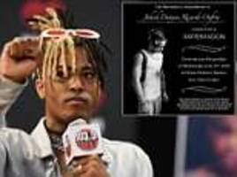 xxxtentacion to have an open casket funeral