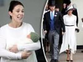 Jacinda Ardern accidentally calls Harry and Meghan Markle the Duke and Duchess of ESSEX