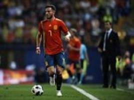 atletico midfielder niguez has hit out at spain decision to sack lopetegui two days before world cup