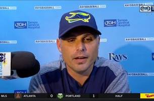 Kevin Cash on Rays' teamwork, sweep of Yankees