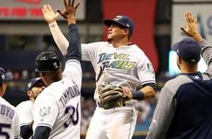 Rays shutout Yankees 4-0, Wilmer Font records first MLB win
