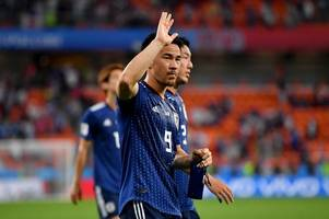 shinji okazaki helps japan force a draw against senegal in the world cup