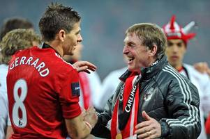 steven gerrard hails sir kenny dalglish but jokes he might not answer his calls now he's rangers boss