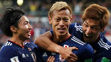 world cup 2018: japan come back twice against senegal to draw 2-2