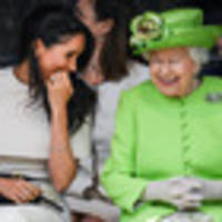 queen invites meghan on second engagement