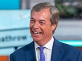 Farage denies misleading UK by conceding Brexit defeat to help hedge funds make money
