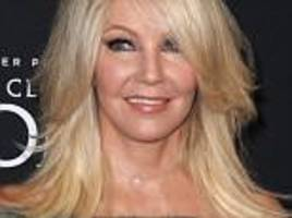 heather locklear arrested again for punching a cop and kicking an emt while 'heavily intoxicated'
