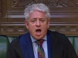 speaker john bercow risks fresh tory fury by insisting he won't honour vow to quit this month