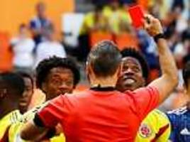 colombia dedicate world cup win over poland to carlos sanchez after he received death threats