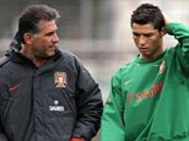 Cristiano Ronaldo and Carlos Queiroz shared a father-son relationship at Manchester United