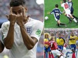 where does jesse lingard's strike rank among england's greatest world cup goals?