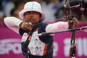 Deepika Kumari clinches gold medal in the women's recurve event in the Archery World Cup