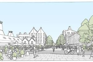 east herts district council secures £9.6million funding to revitalise bishop's stortford's old river lane site
