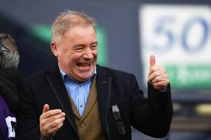 ally mccoist star of the world cup as fans rave about rangers legend's commentary