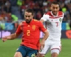 spain coach fernando hierro: morocco deserved to stay in world cup