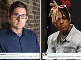 louis theroux sparks twitter row after praising slain rapper xxxtentacion