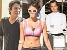 tommy lee goes shopping with busty fiancée brittany furlan... days after spat with son brandon