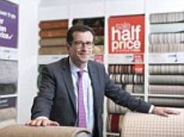 carpetright rolls into the red after consumer slowdown and supplier jitters knock full-year profits