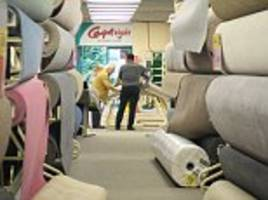 ftse live: carpetright swings to a full-year loss; london stock recovers some lost ground