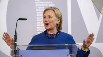 hillary clinton at oxford lecture: 'young let down by brexit'