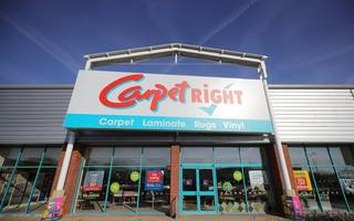 carpetright takes £71m loss as restructuring hits business