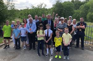 campaign against development on greenbelt land in wishaw steps up a gear
