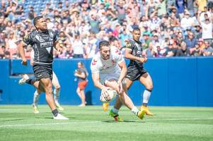 details on england's rugby league autumn test match with france
