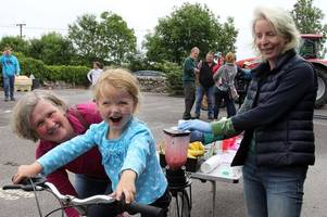 auchencairn primary school's first ever summer fun day proves a huge success