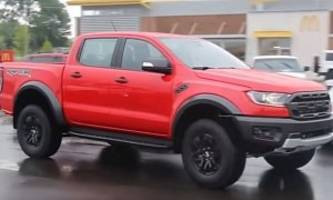 2020 ford ranger raptor spied testing in detroit, should come to us