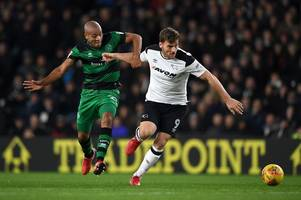 what steve mcclaren has said about derby county striker chris martin