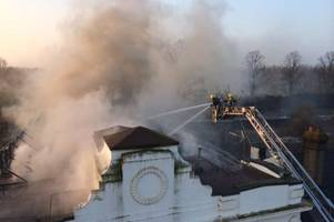 this is what's happening to the fire-ravaged tivoli pub in cambridge - and its big