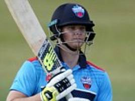 steve smith returns to professional cricket with 61 in canada t20