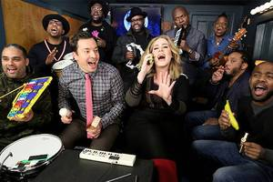 jimmy fallon's 9 most memorable 'classroom instruments' moments, from carly rae jepsen to the backstreet boys (videos)