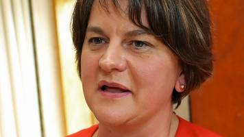 dup leader arlene foster to attend orange parade in fife