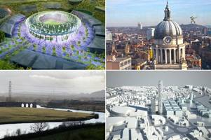 the giant robin hood statue, the 600ft skyscraper and more grand schemes that never happened