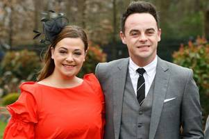 ant mcpartlin's estranged wife lisa armstrong 'denies divorce reports - and says settlement rumours are false'