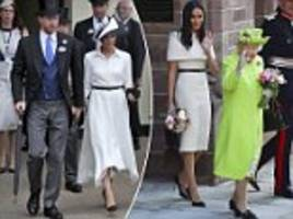 the cost of imitating the meghan's wardrobe is set to rise